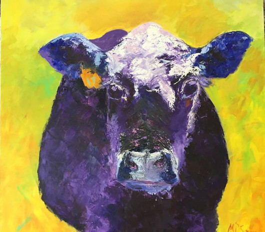 Painting 15 (36x36) Oil _Purple Cow_ The Bank 2017.jpg