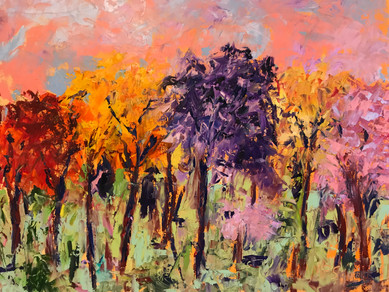 Painting 55 (16 x 20) Oil _The Crayons of Fall_.JPG