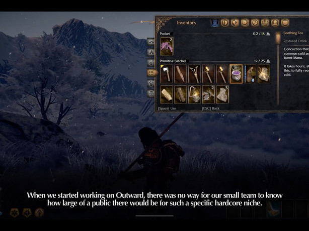 Outward Dev Diary #5 - Permadeath, Postgame and Poutine