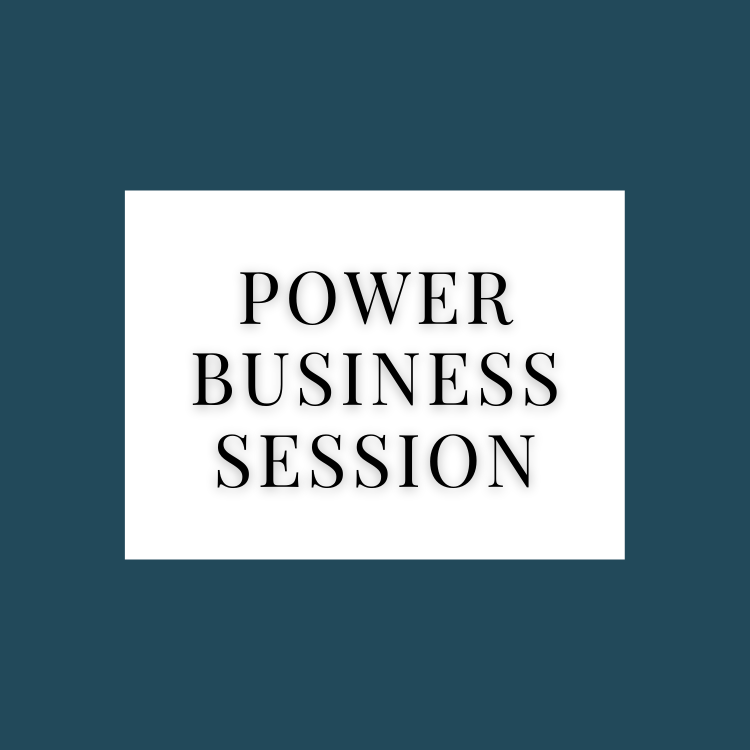 Power Business Session
