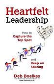 Heartfelt Leadership Book Cover by Deb B