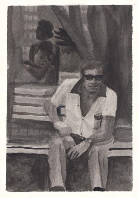 Papa in Cuba