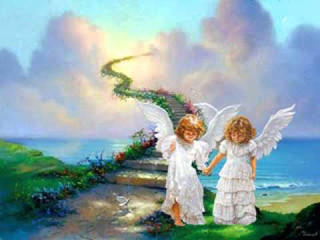Los ángeles pueden cambar tu vida.