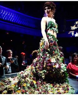 Erin Milan flower dress