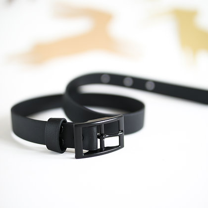 Black Human Squad Belt