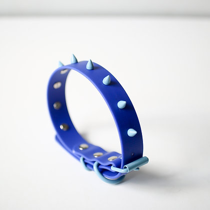 Blue Spike collar