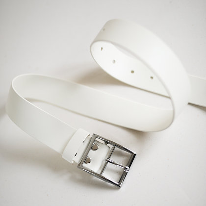White Human Squad Belt