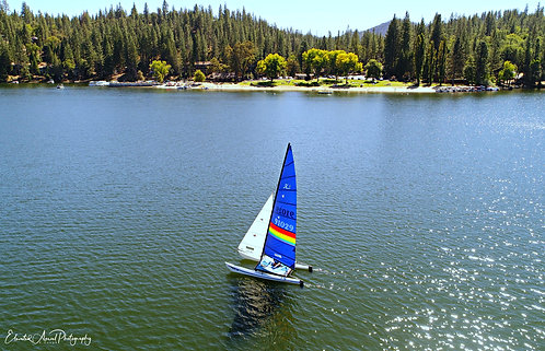 Sailboat - Pine Mountain Lake, CA