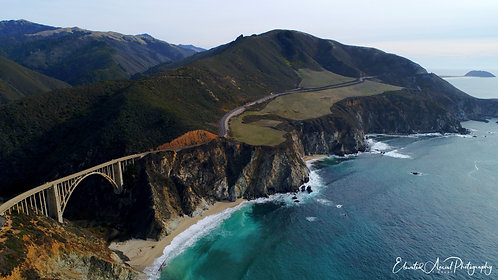 Bixby Creek Bridge, Big Sur - (South)