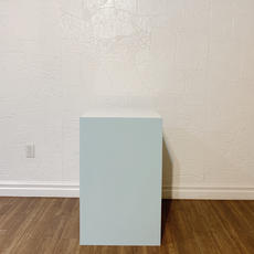 Blue Square Plinth