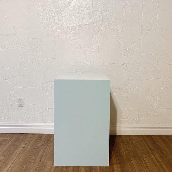 Blue Square Plinth