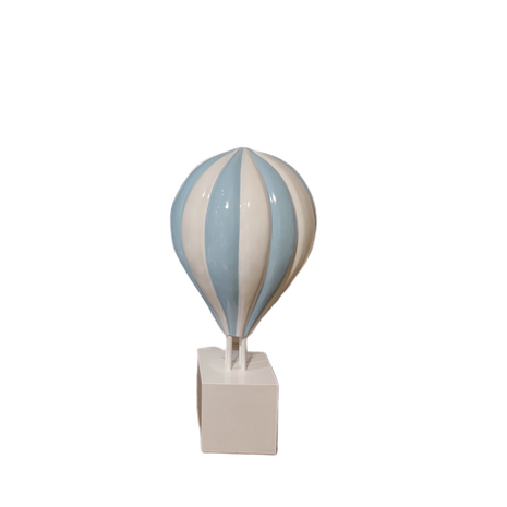 Small Blue Hot Air Balloon