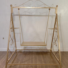 Gold Swing Table