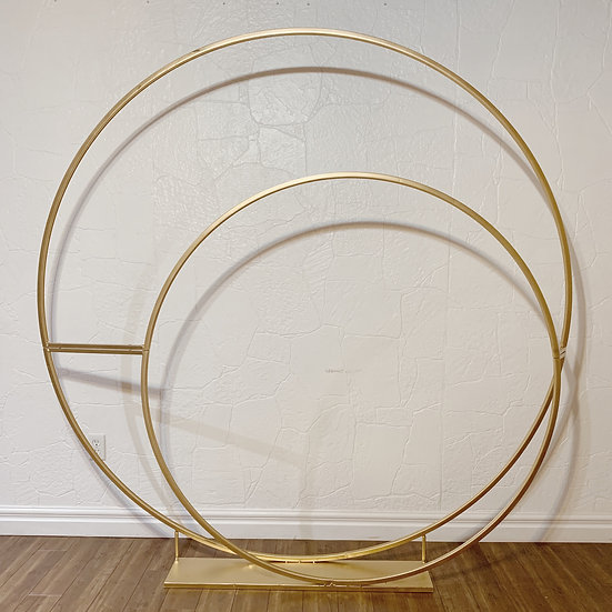 Gold Hoop Backdrop