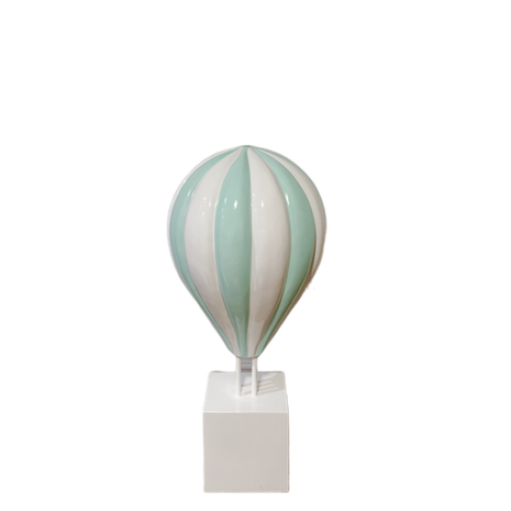 Small Green Hot Air Balloon