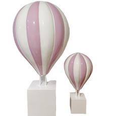 Large Pink Hot Air Balloon