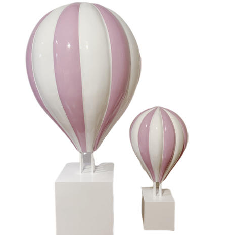Large Pink Hot Air Balloon