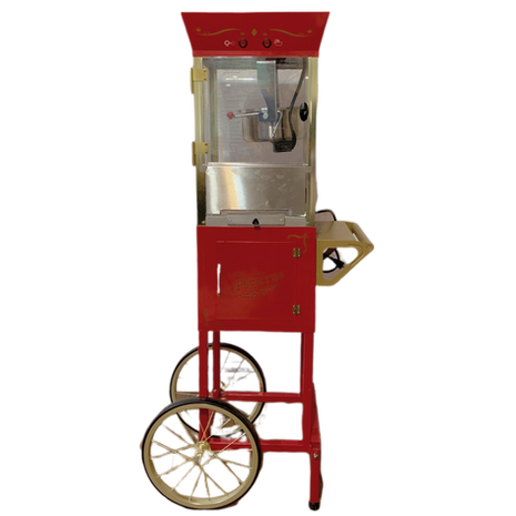 8oz Vintage Popcorn Machine