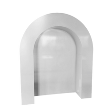 Luxe White Arch Wall