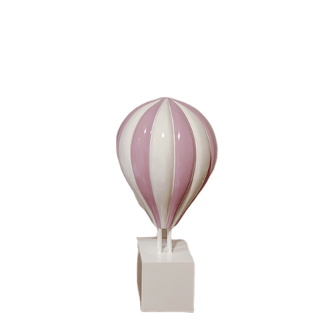 Small Pink Hot Air Balloon