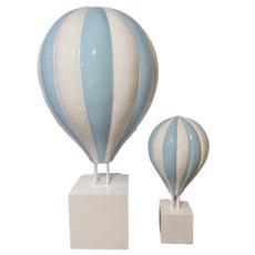 Large Blue Hot Air Balloon