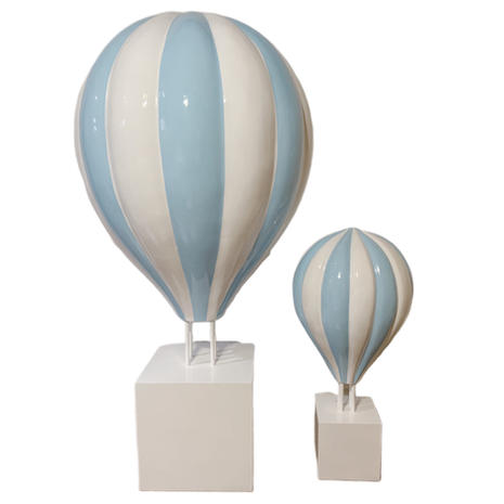 Large Blue Hot Air Balloon
