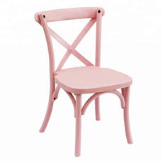 Kids Pink Crossback Chair