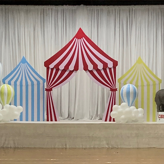 Circus Tent Trio Package