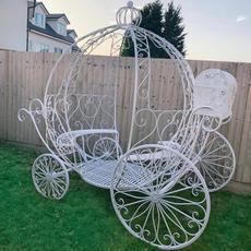 Metal Princess Carriage