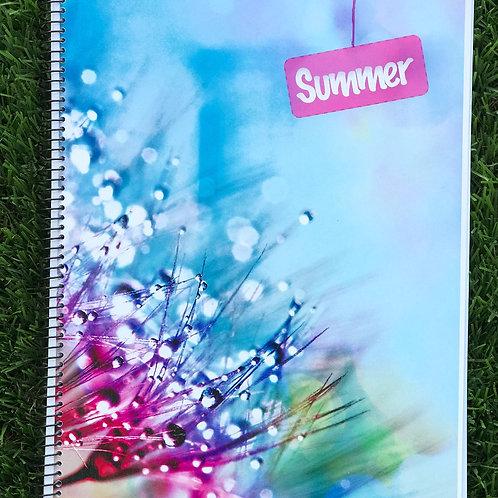 Caderno A4 2keepu-Summer Personalizavel