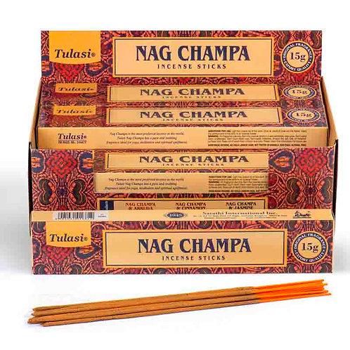 Pack  12 Paus de incenso -NAG CHAMPA