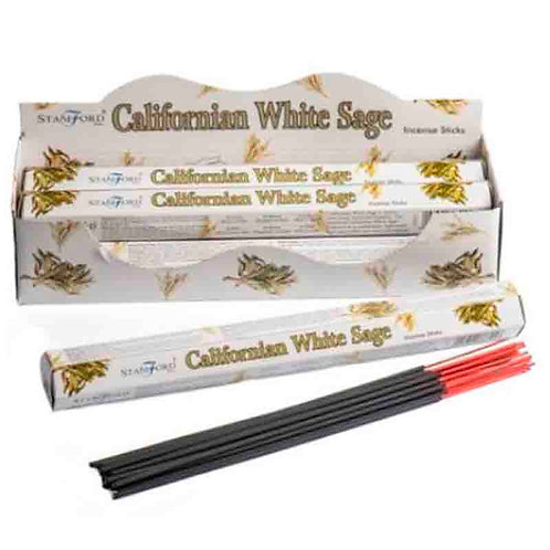 Pack  6 Paus de incenso -CalifornianWhite Sage