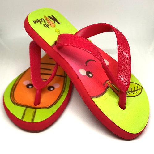 Exemplos de chinelos sublimados