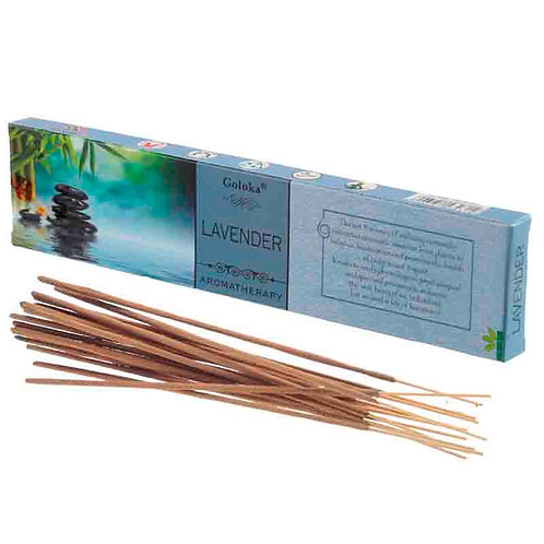 Pack  12 Paus de incenso -LAVANDA