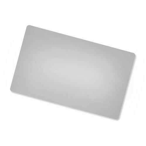 10 cartões de visita metálica para sublimação