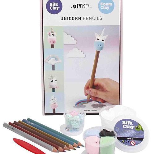 Kit Unicórnios para lápis
