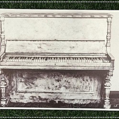 Quadro metal PIANO