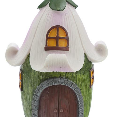 Casa de Fadas – bosque mágico pétalas de flor