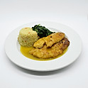 Chicken / Tilapia Francesa