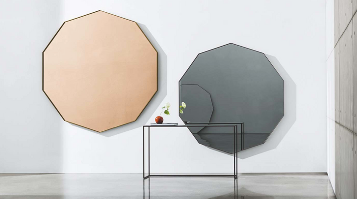 Visual Decagonal mirrors