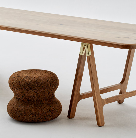 Wiid Design -Walnut Trestle Table 4