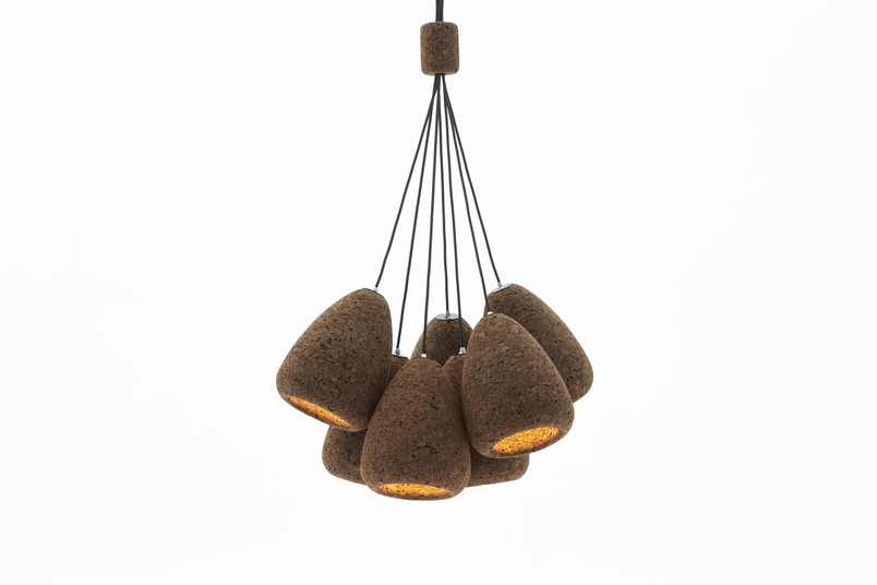 Small cork pendants 2