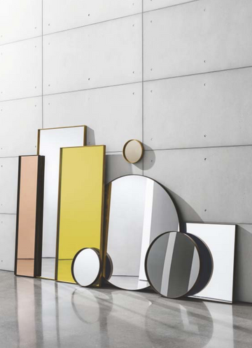 Visual collection of mirrors