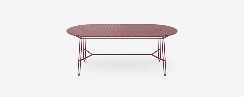 Polka low 6 seater coffee table