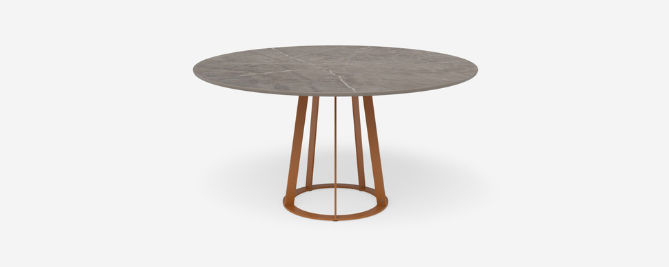 Plat O table - 6 seater round