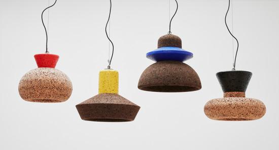 Wiid Design - African cork pendants, Col