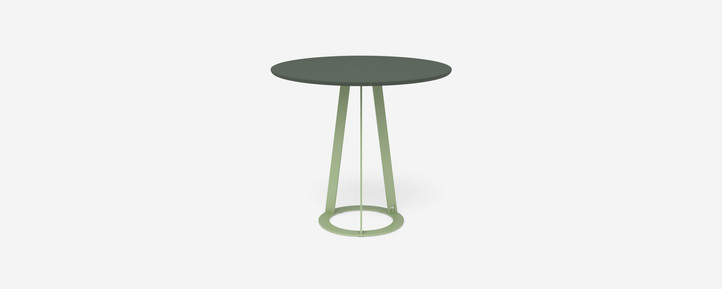 Plat O table - 2 seater