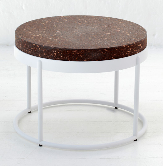 Wiid Design Modern cork side table 2