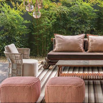 Trancoso sofa with Sedona armchair