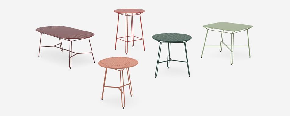 Polka tables